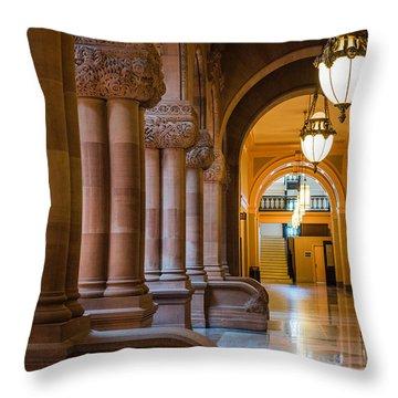 Pillar Hallway Throw Pillow