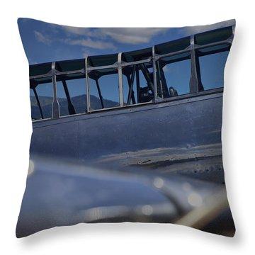 Pilots Office Throw Pillow