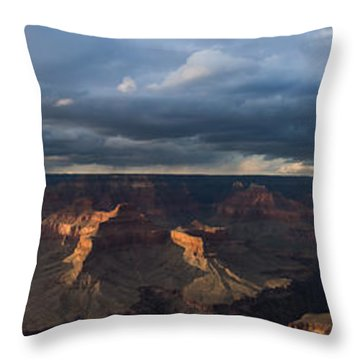 Pima Point Panorama Throw Pillow by Beverly Parks