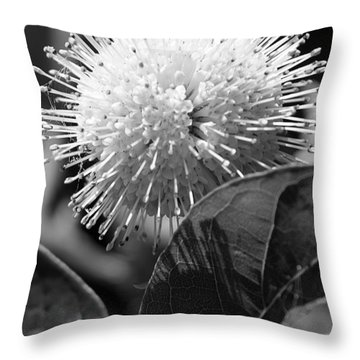 Pin Flower Throw Pillow