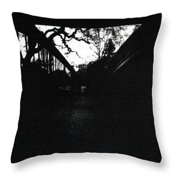Pin Hole Camera Shot 2 Throw Pillow