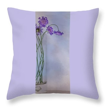 Throw Pillow featuring the photograph Pincushion #1 by Rebecca Cozart