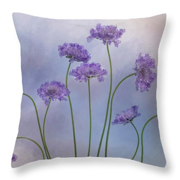 Throw Pillow featuring the photograph Pincushion #3 by Rebecca Cozart