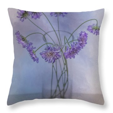 Throw Pillow featuring the photograph Pincushion #5 by Rebecca Cozart