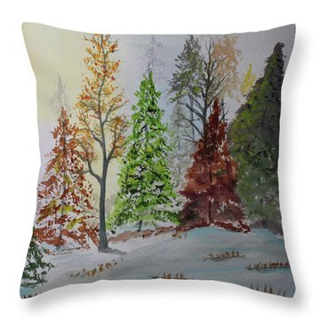 Pine Cove Throw Pillow