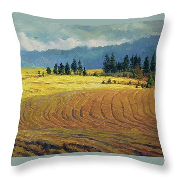 Pine Grove Throw Pillow