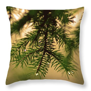 Throw Pillow featuring the photograph Pine by Robert Geary
