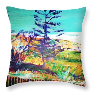 Pine Tree Pandanus Throw Pillow
