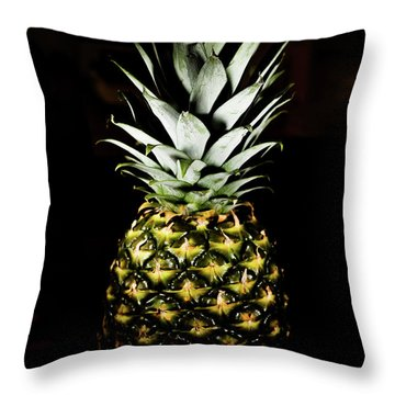 Pineapple In Shine Throw Pillow