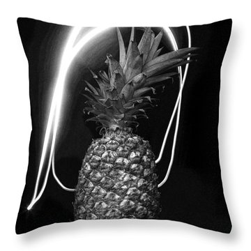 Pineapple Throw Pillow by Jim Mathis