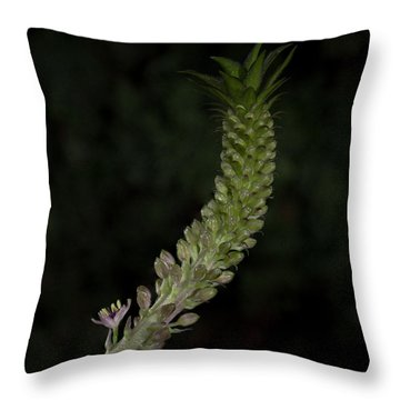 Pineapple Lily Throw Pillow