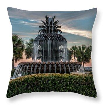 Pineapple Suprise Throw Pillow