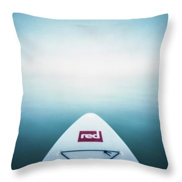 Throw Pillow featuring the photograph Pinhole Sup - Into The Unknown  by Will Gudgeon