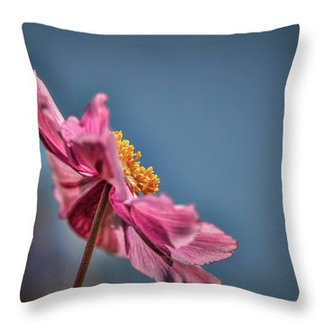 Throw Pillow featuring the photograph Pink And Yellow Profile #h8 by Leif Sohlman