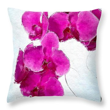 Pink Appeal Throw Pillow