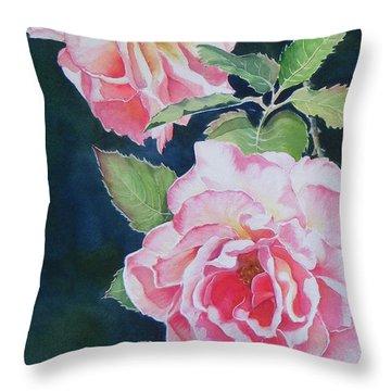 Pink Beauties  Sold  Original Throw Pillow