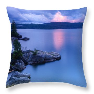 Pink Cloudbreak Throw Pillow