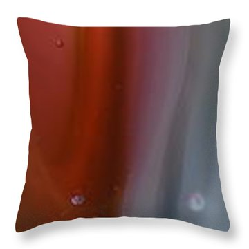 Pink Depths Throw Pillow