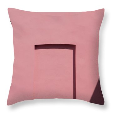 Pink Emoji Throw Pillow