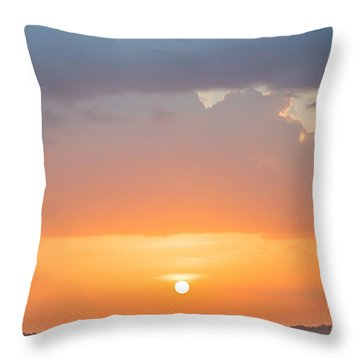 Pink Hues Throw Pillow