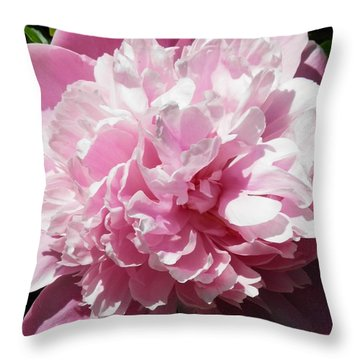 Pink In Bloom Throw Pillow