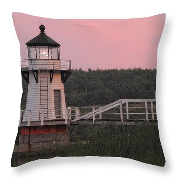 Pink In The Morning Throw Pillow