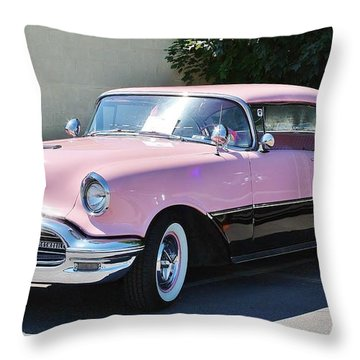 Throw Pillow featuring the photograph Pink Is A Color by Al Fritz