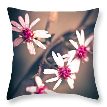 Throw Pillow featuring the photograph Pink by Michaela Preston