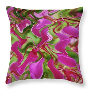 Pink Party Throw Pillow