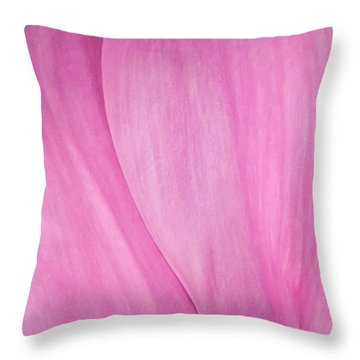 Pink Peony Perfection Throw Pillow