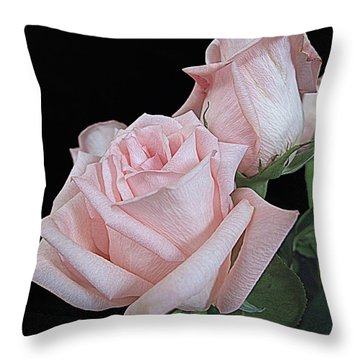 Pink Persuasion Throw Pillow