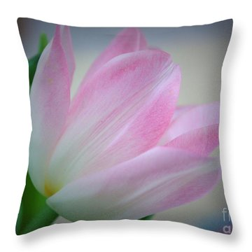 Pink Poetry Throw Pillow