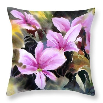 Pink Prize Throw Pillow