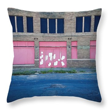 Throw Pillow featuring the photograph Pink Promises by Trish Mistric