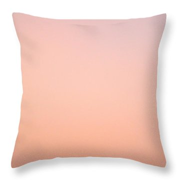 Pink Skies Throw Pillow by Corinne Rhode