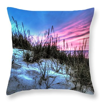 Pink Sky At Night Throw Pillow