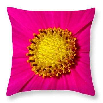 Throw Pillow featuring the photograph Pink Wildflower 008 by George Bostian