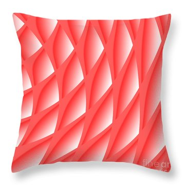 Pinked Throw Pillow