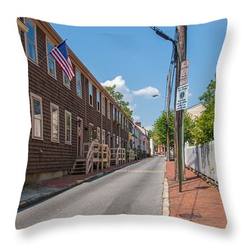 Pinkney Street Throw Pillow