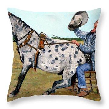 Pinky And Gert Throw Pillow