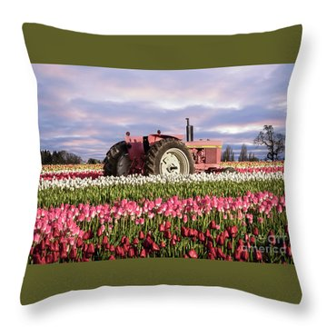 Pinky Jd Throw Pillow