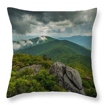 Throw Pillow featuring the photograph Pinnacle by Joye Ardyn Durham