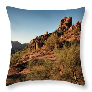 Pinnacle Peak  Throw Pillow