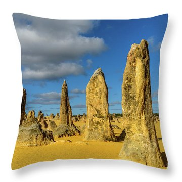 Pinnacles 6 Throw Pillow