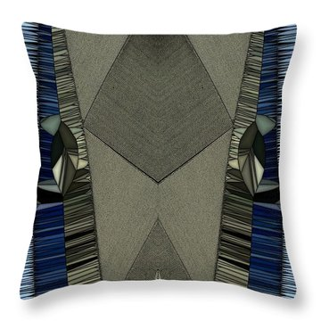 Pins And Needles Throw Pillow by Ron Bissett