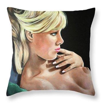 Pinup Throw Pillow