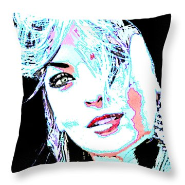 Pinup Love Throw Pillow by Tbone Oliver