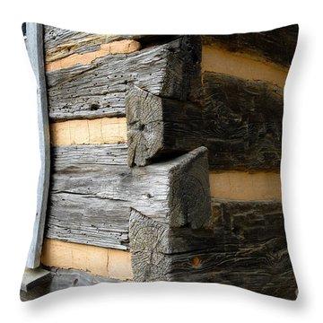 Pioneer Craftsmanship Throw Pillow by David Lee Thompson