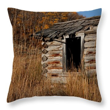 Pioneer Homestead Throw Pillow by Idaho Scenic Images Linda Lantzy