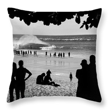 Pipe Arena Throw Pillow by Sean Davey
